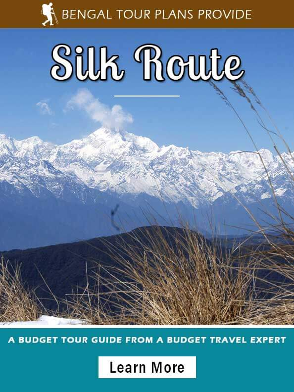 Silk Route Tour Package from Kolkata