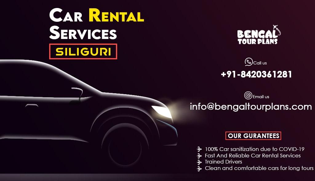 car rental services in siliguri