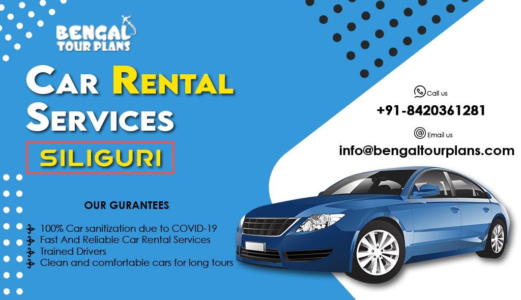 siliguri car rental service